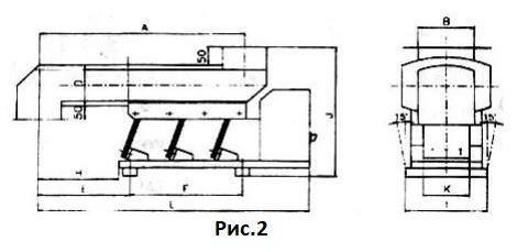 электромагнитный вибропривод для лотка