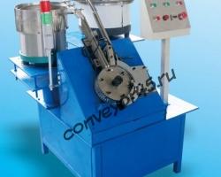 Автомат сборки кабельной скобы и гвоздя