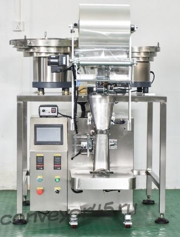 Оборудование автоматического счета и упаковки резиновых колец (уплотнений)