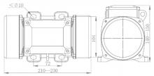 Вибромоторы (промышленные вибраторы) предназначены для создания вибрации и использовании в конвейерах, вибробункерах, вибролотках, виброситах и т.д.