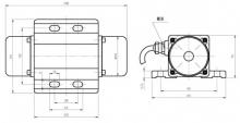 Вибромоторы (промышленные) вибраторы для использования в конвейерах, вибробункерах, вибролотках, виброситах и т.д.