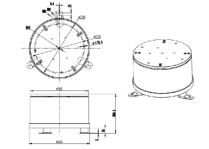 чашечный электромагнитный вибропривод NTB-38