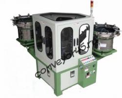 Автомат сборки пластикового дюбеля и шурупа