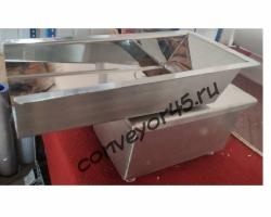 Вибролоток серии РР из нержавеющей стали и с электромагнитным виброприводом для сыпучих продуктов
