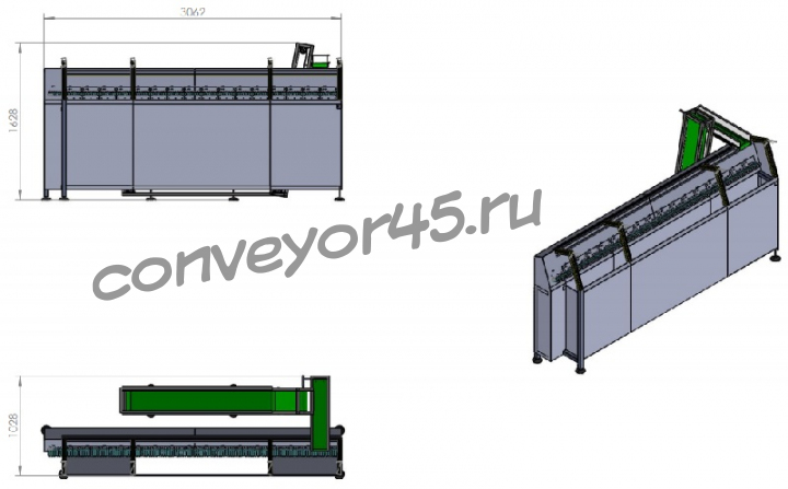 Конвейер для ориентации фольксваген транспортер орел авито