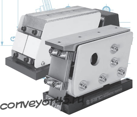 электромагнитные виброприводы серии CS, CA, JA
