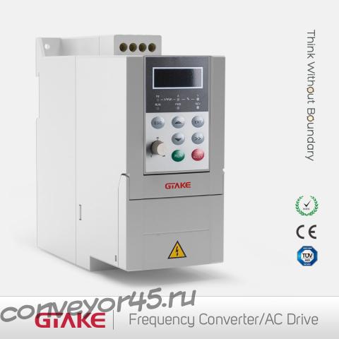 преобразователь частоты GTAKE GK500-4T2.2B для изменения частоты вращения двигателя