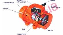 Вибромоторы (промышленные вибраторы)